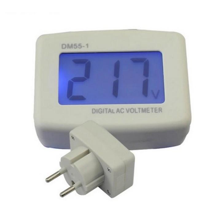 Socket voltmeter AC110-300V