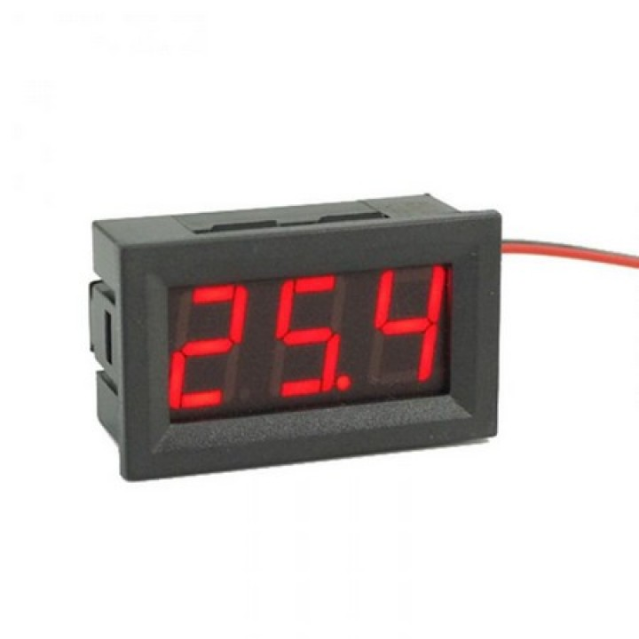 Digital Voltmeter DSN-DVM-568L-2 Red