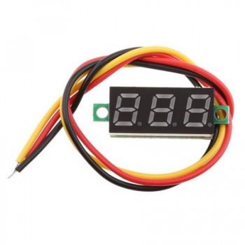 Digital Voltmeter DVM-28,3AB Green